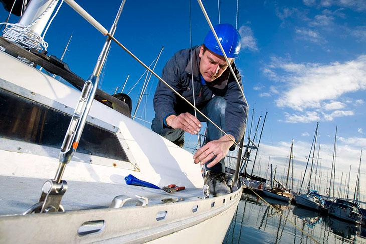 Подготовка яхты к плаванию